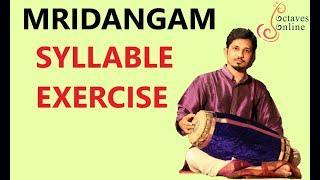 mridangam syllable exercises