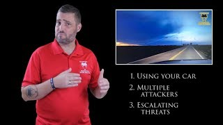 Always Use Your Car To Get Out Of The Danger Zone | Active Self Protection