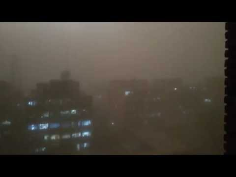 Unseen Storm Ever In Rajendra Place Delhi 2014