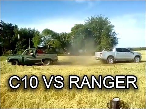 Chevrolet C10 Vs Ranger 2013 Youtube