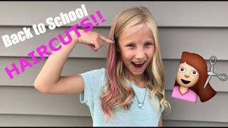 Pink Hair?!? Meet the Millers Back to School 2017 Haircuts!