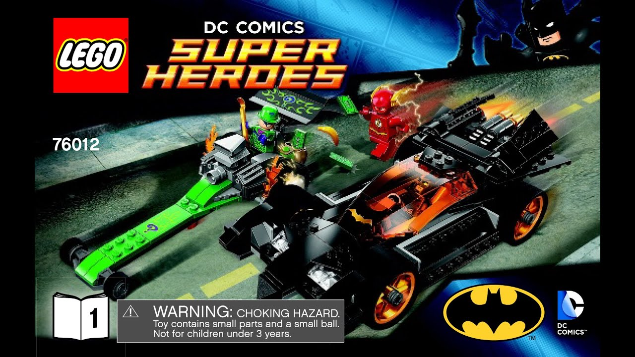 lego superheroes batman the riddler chase 76012 instructions 1of2 youtube. Black Bedroom Furniture Sets. Home Design Ideas
