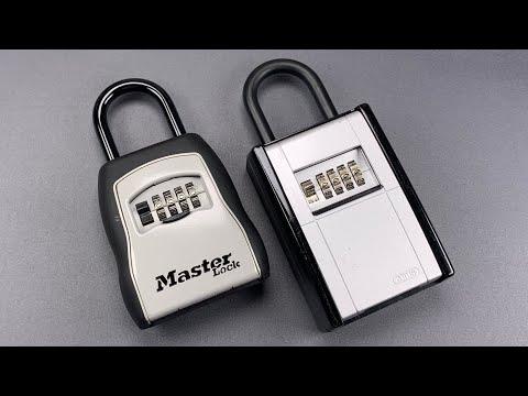 Взлом отмычками ABUS     [1057] Abus vs. Master Lock Key Lockboxes