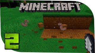 Minecraft С модами 2 Копатель червяков