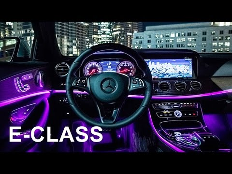 2017 Mercedes E-Class - interior Review - YouTube