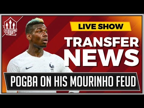 POGBA Reveals MOURINHO Feud Truth! MAN UTD News Now