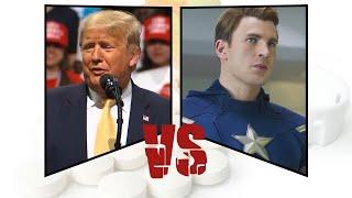 Trump vs Chris Evans (microDOSE)