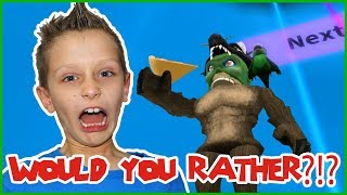 The Best WOULD U RATHER Game in Roblox!