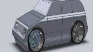 Building A Toy Car In Solidworks 2010