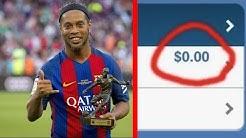 Wie konnte Ronaldinho so schnell PLEITE gehen ?!