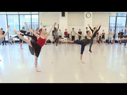 National Choreographic Festival Live Ballet Class | Dance Magazine
