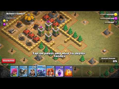 Clash Of Clans- Queen's Gambit
