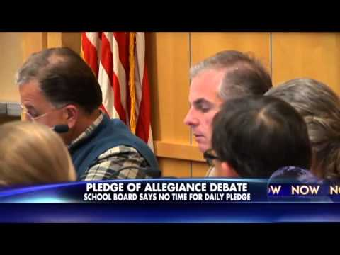 South Dakota : The Pledge of Allegiance banned by Sioux Fall