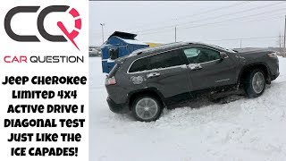 Jeep Cherokee Diagonal 4x4 Test on ICE | Ice Capades Time!