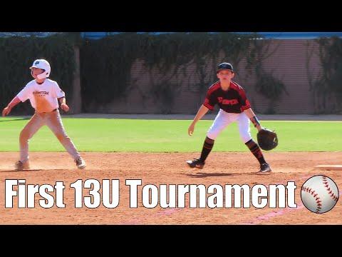 ⚾️ First 13u Baseball Tournament Of The Season ⚾️