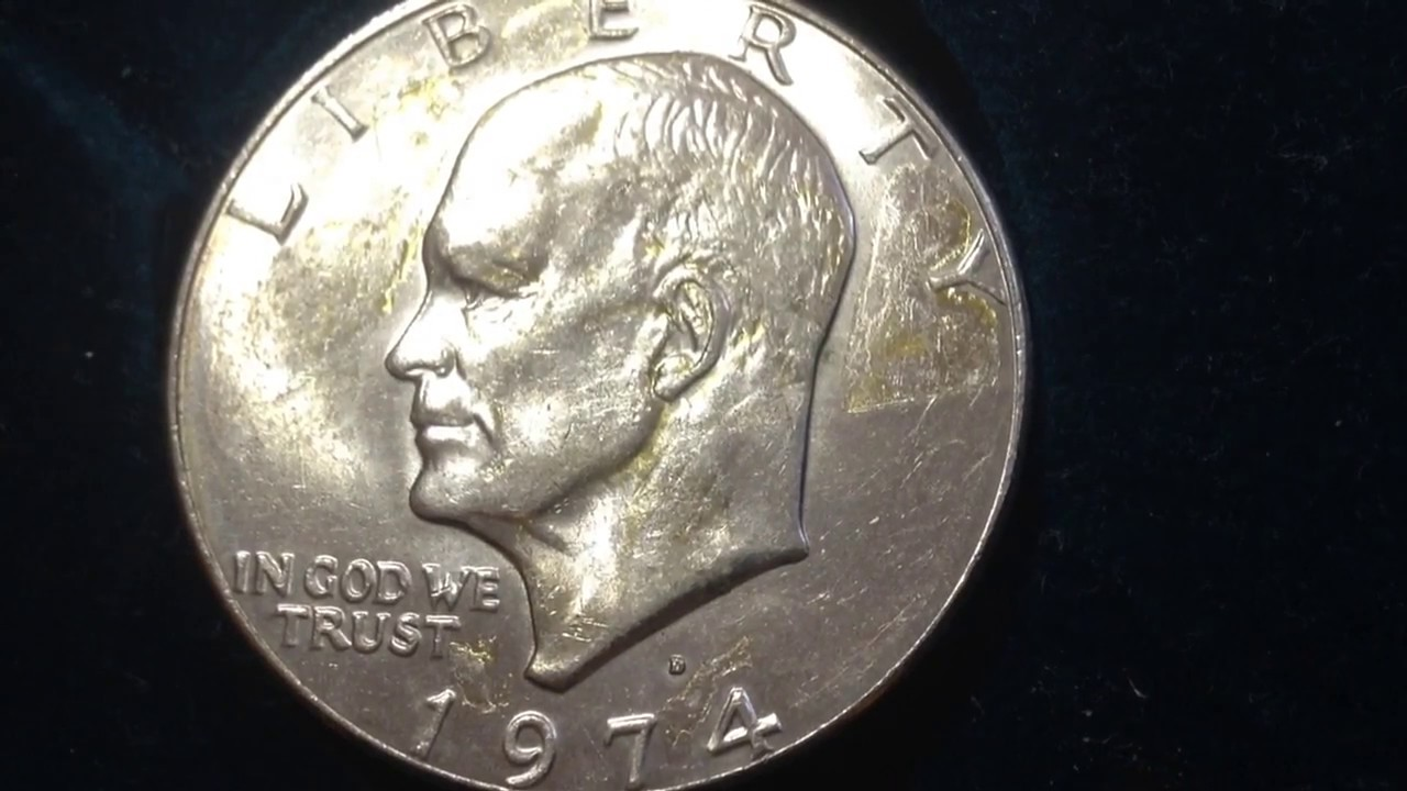 Value of one dollar coins 1974