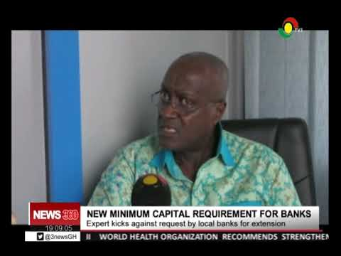 EXPERT KICK AGAINST NEW MINIMUM CAPITAL REQUIREMENT FOR BANKS