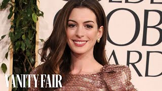 Anne Hathaway - The Secrets to Her Unique Fashion & Style on Vanity Fair Hollywood Style Star