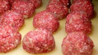 Almôndegas Porpetas Polpettas Meatballs - Receitas Carnes Ep.9