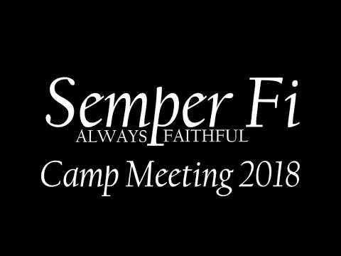 Camp Meeting 2018 Update (5/17/18)