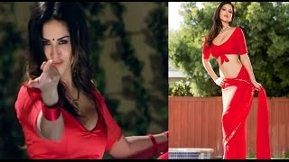 Sunny leone red hot romance in wet saree || hottest navel dance | hd | 2016
