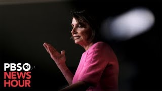 WATCH: Pelosi questions Trump's fitness for office at news conference