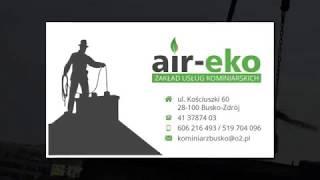 Kominiarz okresowa kontrola przewodów kominowych czyszczenie kominów Busko-Zdrój Majcher