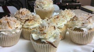 Make Delicious Coconut Cream/Custard Cupcake