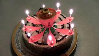 Волшебная музыкальная свеча на торт!(Больше всех именинный торт любят дети: ждут с нетерпением дня рождения, чтобы загадать заветное желание,..., 2015-12-22T17:36:46.000Z)