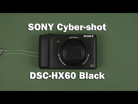 Распаковка Sony Cyber-Shot DSC-HX60 Black