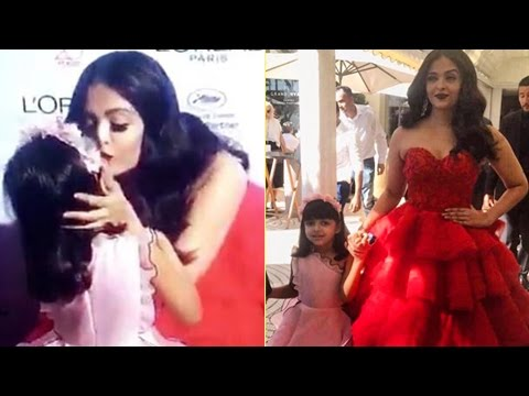 Aaradhya Bachchan Takes A Walk With Aishwarya Rai At Cannes 2017