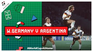 Italy90 West Germany 1 0 Argentina Extended Highlights 1990 FIFA World Cup