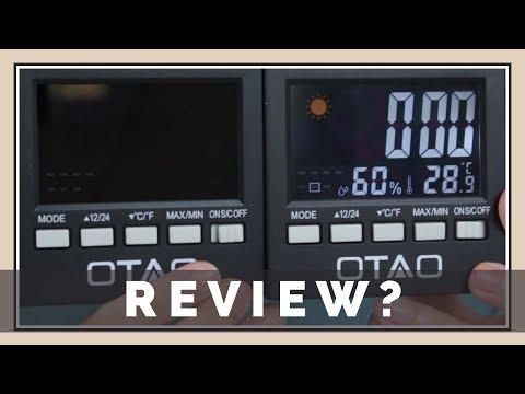 Humidity / Clock / Temperature Gauge Thing? OTAO Review