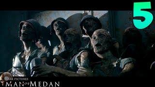 Man of Medan. Прохождение. Часть 5 (Пугают до смерти)