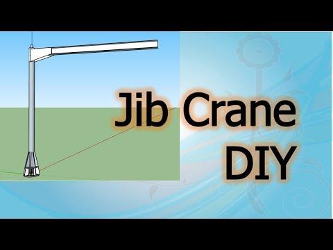 DIY Jib Crane part 1 of 2