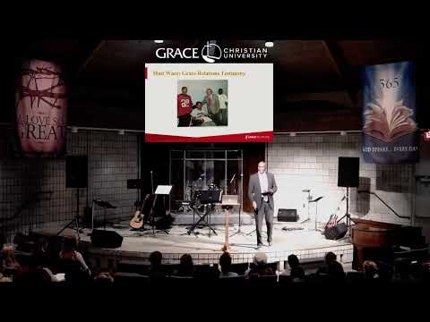 11.13.19 Wednesday Chapel with Dr. Charles Ware