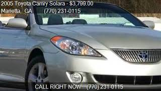 2005 Toyota Camry Solara SE V6 2dr Convertible for sale in M
