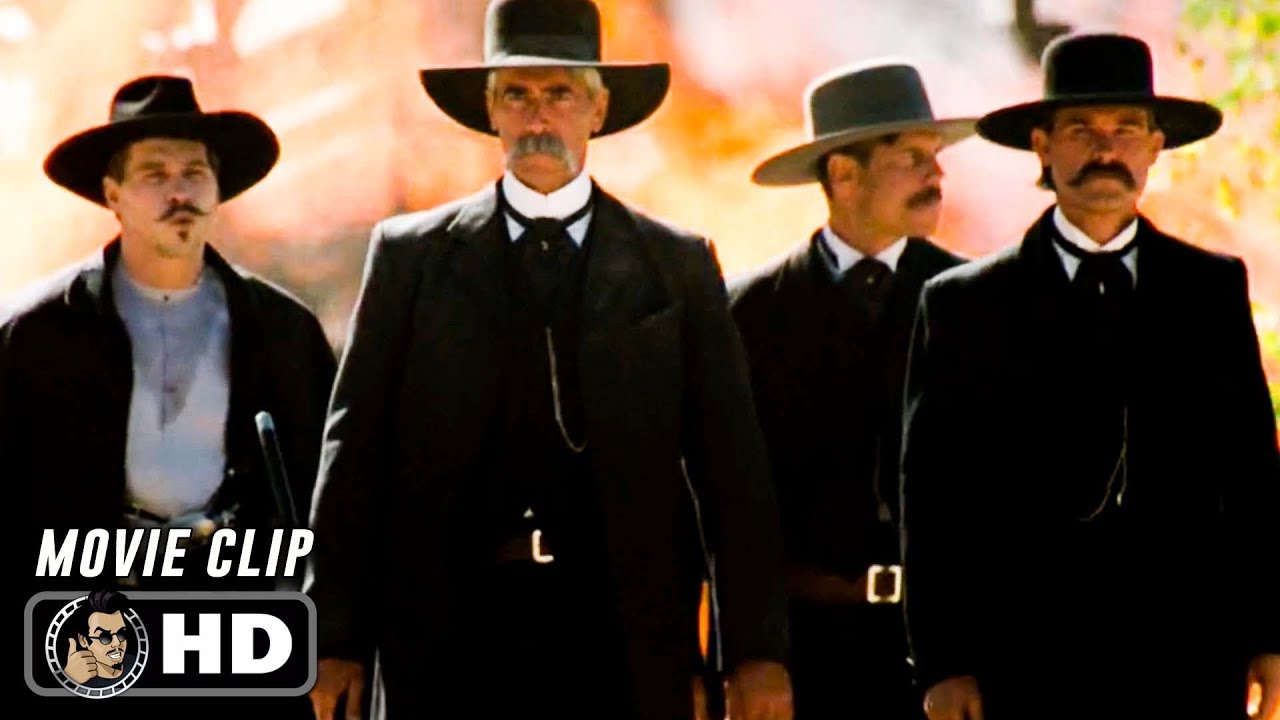 Download TOMBSTONE Clip - Gunfight at The O.K. Corral (1993) Kurt Russell