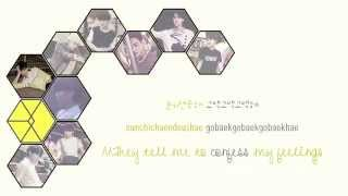 EXO - Tender Love (Korean Ver.) [Color coded Han|Rom|Eng lyrics]