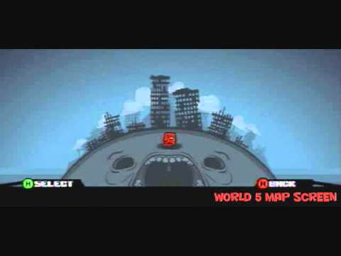 Super Meat Boy Soundtrack--World 5 Map Screen