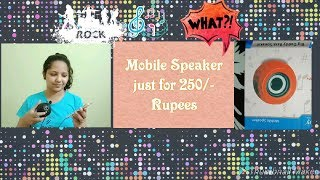 Best speaker with bass under 300 rupees. / Mobile speaker with bass / Speaker / Creative Apurva Jain