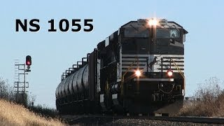 "NS 1055 West, a Speedy ""ACe"" on 11-24-2013"