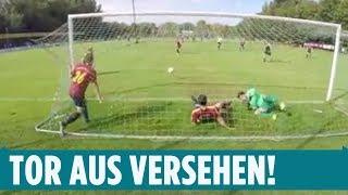 Mega-witziges Tor aus der Kreisliga! 😂⚽️