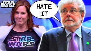 Kathleen Kennedy RESPONDS To George Lucas Criticism
