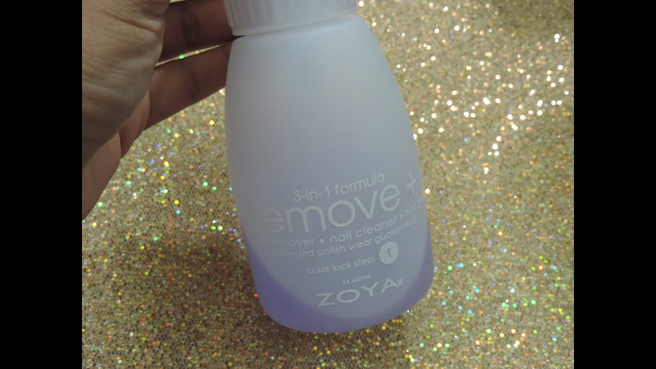 Review: Zoya Nail Polish Remover Plus ( Best Remover For Glitter ...