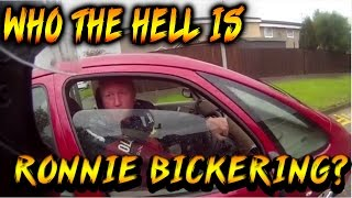 Ronnie Pickering Bike vs Car ROAD RAGE - WHO THE HELL IS RONNIE??
