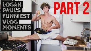 Logan Pauls Funniest Vlog Moments Part