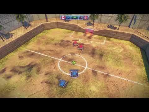 Robot Soccer Challenge Match 7 Playthough 2 |