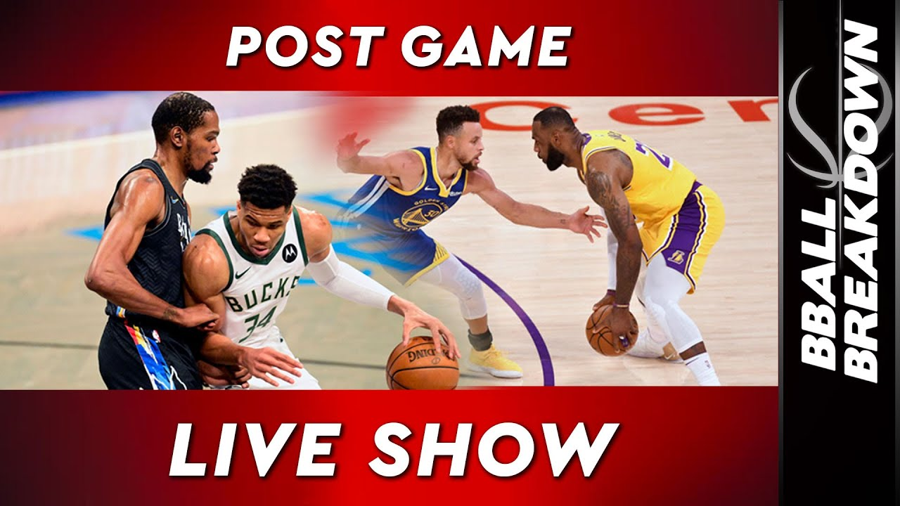 Download Nets Bucks And Warriors Lakers LIVE Post Game Show