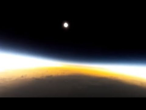 Unglaubliche Aufnahmen von Sonnenfinsternissen ► shadowing of the sun